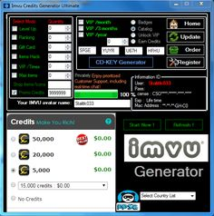 Imvu Cheats Codes Credits Vip Hack