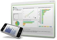 QlikView and Attivio are doing some cool work on data visualization.