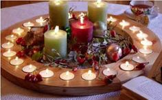 Bildung Joyeuse *: Advent nach Steiner Kronen und Spiralen