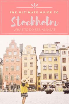 Stockholm City Guide: what to do, see, and eat. 4 days in Stockholm, Stockholm itinerary, Stockholm, Sweden, What to do in Stockholm, things to do in Stockholm