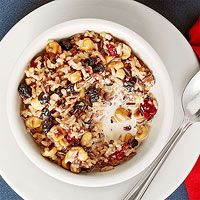 The chefs at Hell's Kitchen-Minneapolis shared their recipe for Manhomin Porridge for our breakfast issue. It's full of hearty, energizing ingredients like wild rice and dried fruit. Make it for breakfast tomorrow!