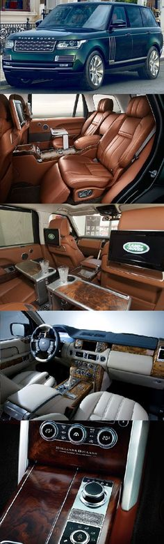 The most expensive SUV today. Holland and Holland Range Rover luxury SUV will cost you just $285,000 alles für Ihren Stil - www.thegentlemanclub.de
