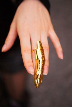 Goldfinger. Literally. #RandM approved #blingbling