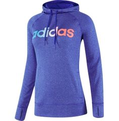 Pull on the adidas® Women's Ultimate Fleece Hoodie and beat cooler temperatures during your training session. climawarm™ performance fabric provides thermal insulation that remains lightweight and breathable enough to keep you dry during a workout. A brushed fleece interior provides an ultra-soft feel against your skin, and thumb holes on wide cuffs add coverage while keeping your sleeves in place.