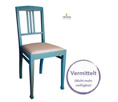 Vintage - vom Stuhl aufwärts: Stuhl Otto I und Otto II