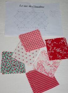 Tuto : le sac 22 carrés - Damocamelia & Violaine présentent Diy Hacks, Creative Crafts, Patches, Textiles, Quilts, Sewing, Crochet, Womens Fashion, Montage