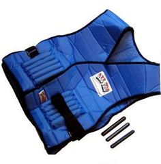<UL> <li>Adjustable 20 lb exercise vest for both men and women Premium quality, designed for comfort & safety Cushioned flaps protect your body and keep weights secure Patented design provides extra cushioning and permits full freedom of movement Includes protective padding for chest, shoulders, upper back, spine and waist Exclusive design keeps weights away from the body for extra comfort Includes 40 weights (each .5 lb) to be added or removed as required One size fits all</li> </ul>