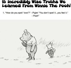 15 Incredibly Wise Truths We Learned From Winnie The Pooh