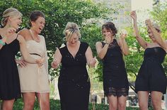 See the little black dress bridal shower here.  Photo by Amy Carroll via Green Wedding Shoes