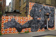 Street Art in Brick LaneLondon