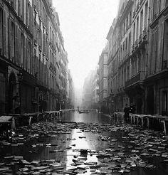 The Great Flood - 1910, Paris