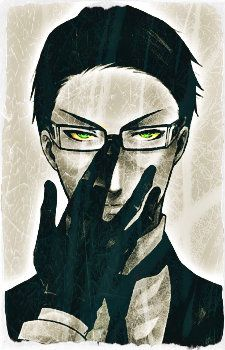 Black Butler ~~ The ever so humorless William T. Spears. AKA The Inspiration for Grell's Voodoo Doll