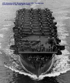 Escort carrier, or otherwise called a Jeep Carrier.