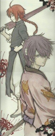 Gintama ~~ Kamui & Takasugi