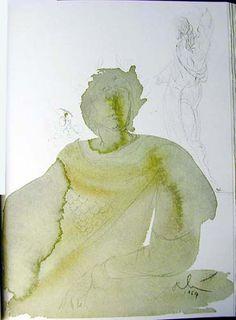 Licet tributum dare Caesari?, 1967 by Salvador Dali. Expressionism, Symbolism. religious painting