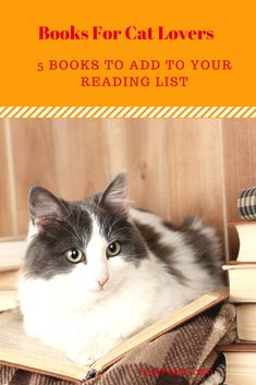 Books for cat lovers.  Great reads to add to your winter reading list #books