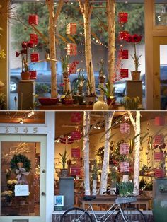 Window display visual merchandising #flower #shop #inspiration #florist