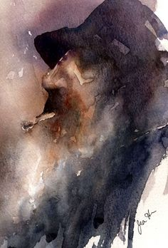 Jean Haines Teaches Us How to Paint Loose, Expressive Watercolors. | #watercolorpainting #watercolor