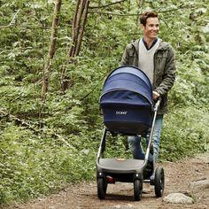 Stokke Trailz stroller in Deep Blue