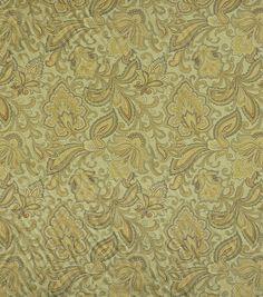 Home Decor Fabric-Robert Allen Curative Lagoon Fabric
