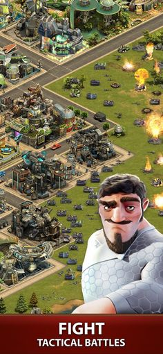 Forge of Empires: Build a City on the App Store Games For Teens, Adult Games, Forge Of Empire, Building An Empire, Battle, App Store, City, Miniature, Apps