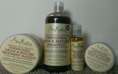 Natural Hair Products: NEW Shea Moisture Jamaican Black Castor Oil