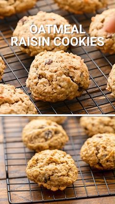 You can't beat this classic cookie recipe! Traditional Oatmeal Raisin Cookies are soft in the inside, chewy with the perfect crispy edges. Just a hint of spice to finish off the perfect cookie recipe. Stock your cookie jar with these. Plus, they freeze great!