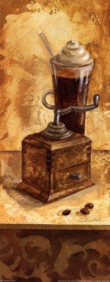 International Coffee IV by Silvia Vassileva art print