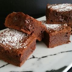 Thermotwinning: Double Dark Chocolate Brownies