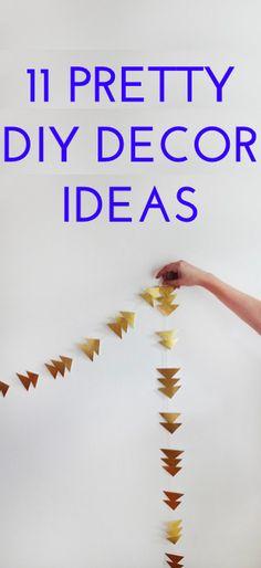 11 easy DIY decor ideas