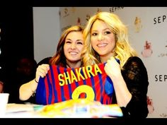 On 27 March 2013, Shakira visited Paris to launch her new S by Shakira fragrance at the city's Sephora store. While she was there, she signed autographs and chatted to fans about being a mother, her next album and being a coach on The Voice.