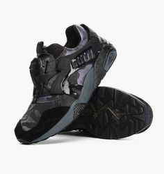 72e6ad663846 Puma x BAPE Disc Blaze Black. Available now. http   ift.