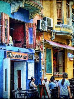 An old coffee house @ İstanbul