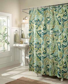 Imperial Quincailleire rideau de douche de luxe Island Breeze en bleu