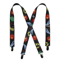 BeltOutlet.com - CTM Kids Halloween Print Holiday Suspenders
