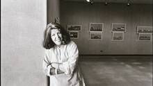 Edythe Goodridge, seen in 1977, emphasized the complex, necessary place of artists in society. (Memorial University of Newfoundland Collection)