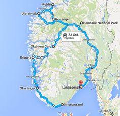 Juni 2016 Aufbruch zu unserer Norwegenrundreise 3 1/2 Wochen, wir haben Hotels, Appartments und Hütten alle im Vorfeld gebucht, einen groben Plan gemacht, was wir uns ansehen wollen. Uns nach langem Hin-und Her gegen das Nordkap entschieden, und uns auf Süd- und Mittelnorwegen konzentriert.
