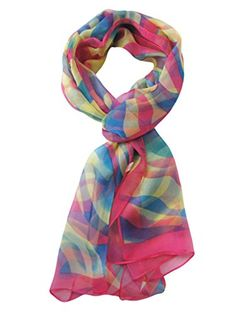 V28® Womens Floral & Graphic Print 100% Silk Great Nature Pattern Scarf (Stripes-KaqiBluPink) V28® http://www.amazon.com/dp/B00SL5D3EG/ref=cm_sw_r_pi_dp_9DRbvb00BC6PA