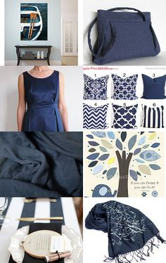 Indigo/navy blue by Smartyns on Etsy--Pinned with TreasuryPin.com
