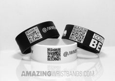 Use QR (Quick Response) coded wristbands are useful for any type of events and parties. This helps you to track your party goers and event programmers easily. Silicone Rings, Silicone Bracelets, Rubber Bracelets, Track, Parties, Events, Popular, Type, Create