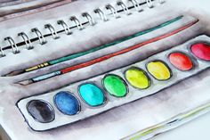 """""""Even when I am strapped for time- I make time to fill a couple pages of my sketchbook with drawings every day."""" ~Alisa Burke ....I need to start making time for it, too."""