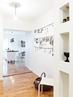 Distribución de pisos españoles y nórdicos