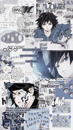 Giyuu Tomoika Demon Slayer/Kimetsu no yaiba wallpaper kawaii Wallpaper Animé, Anime Wallpaper Phone, Cool Anime Wallpapers, Animes Wallpapers, Otaku Anime, Manga Anime, Anime Art, Anime Collage, Vintage Anime