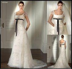 Rustic Wedding Dresses, Designer Wedding Dresses, Empire Cut Dress, Bridal Gowns, Wedding Gowns, V Neck Prom Dresses, Court Dresses, Sleeves Designs For Dresses, Dress Hairstyles
