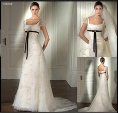 me encanto este vestido de novia