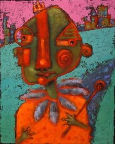 Bernie's Illusions Of Grandeur, whimsical, abstract figurative ...