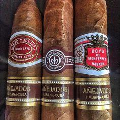 Anejados Lineup #cigar #cigars #cigarians #cigarporn #cigarboss #cigarsociety #cigarworld #cigarphotography #cigaraficionado #cigarlover #cigarcity #cigarlifestyle #romeoandjuliet #hoyodemonterrey #montecristo #anejados #lineup #instacool #instagood #instalike #impression #madmax #lifestyle by atzen11