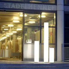 Kolumna oświetleniowa Tower. Więcej na: http://www.lampy.pl/Niepowtarzalna-kolumna-oswietleniowa-Tower.html