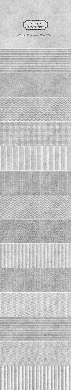 Vintage Paper Textures Pack