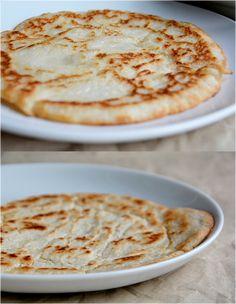naan_lepenykenyer3 Naan, Gluten Free, Keto, Ethnic Recipes, Desserts, Food, Glutenfree, Tailgate Desserts, Deserts